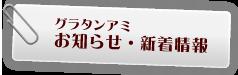 グラタン専門店アミ:お知らせ・新着情報
